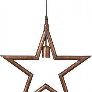 Metallstjärna Råkoppar 45cm (Koppar)