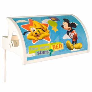 Mickey Mouse CH sänglampa (Flerfärgad)