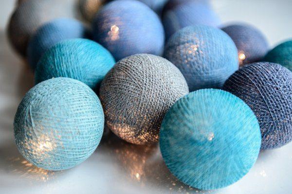 Ocean Blue 35-ljus (Blå)