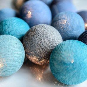 Oceans Blue 20-ljus (Blå)