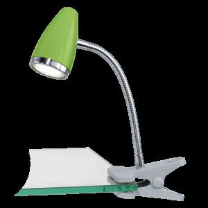 Riccio 1 kläm LED (Vit)