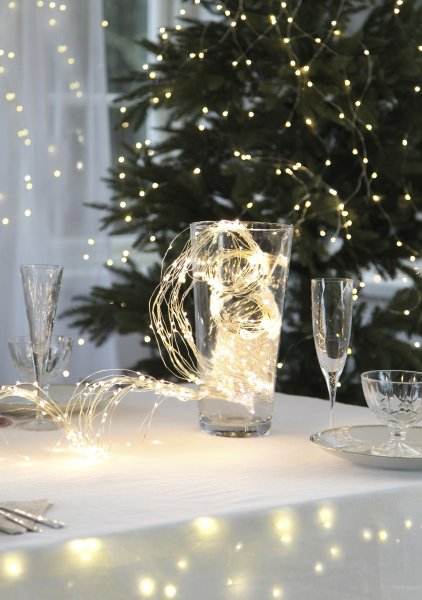 String light bukettljusslinga 360 LED (Klar/transparent)
