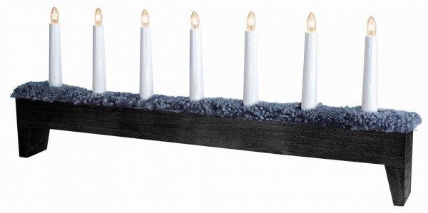 Svenljunga ljusstake 7 ljus (Svart)
