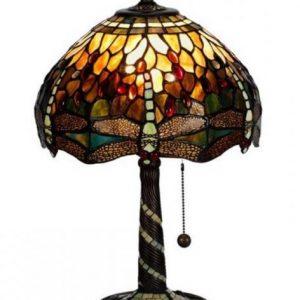 Trollslända bordlampa 30cm (Flerfärgad)
