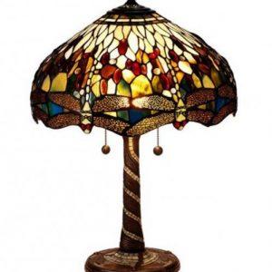 Trollslända bordslampa 40cm (Flerfärgad)