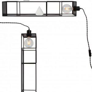 Vägglampa/Golvlampa Shelfie Long (Vit)